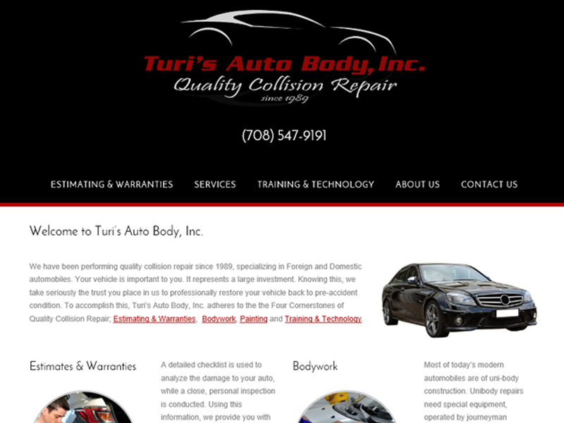 Turi's Auto Body, Inc. - Bellwood, IL