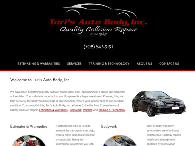 Turi's Auto Body, Inc. - Bellwood, IL